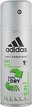 Parfumuri și produse cosmetice Deodorant - Adidas Anti-Perspirant Cool&Dry 6 in 1 48H