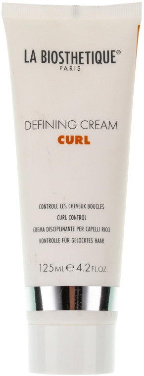 Cremă texturizantă pentru bucle - La Biosthetique Curl Defining Cream — Imagine N1