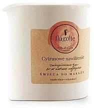 """Parfumuri și produse cosmetice Lumânare pentru masaj """"Citrice hidratante"""" - Flagolie Citrus Hydration Massage Candle"""