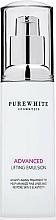 Parfumuri și produse cosmetice Emulsie pentru fermitatea pielii - Pure White Cosmetics Advanced Lifting Emulsion