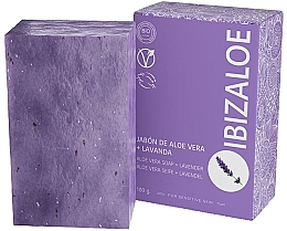 Parfumuri și produse cosmetice Săpun cu lavandă - Ibizaloe Aloe Vera Soap Lavender