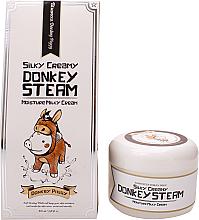Parfumuri și produse cosmetice Cremă de față - Elizavecca Silky Creamy Donkey Steam Moisture Milky Cream