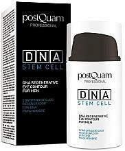 Parfumuri și produse cosmetice Cremă de ochi pentru bărbați - PostQuam Global Dna Men Intensive Eye Contour