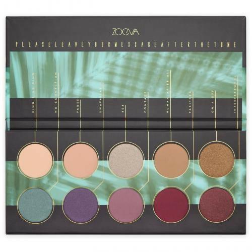 Paletă farduri de ochi - Zoeva Offline Eye Shadow Palette — Imagine N1