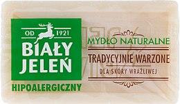 Săpun natural hipoalergenic - Bialy Jelen Hypoallergenic Natural Soap  — Imagine N1