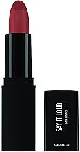 Parfumuri și produse cosmetice Ruj de buze - Sleek MakeUP Say It Loud Satin Lipstick