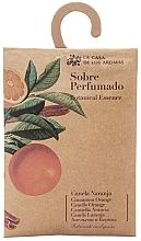 """Parfumuri și produse cosmetice Plic aromat """"Portocală și scorțișoară"""" - La Casa de Los Botanical Essence Cinnamon Orange"""