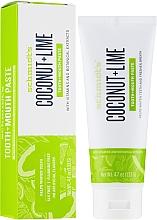 Parfumuri și produse cosmetice Pastă de dinți - Schmidt's Coconut Lime Toothpaste