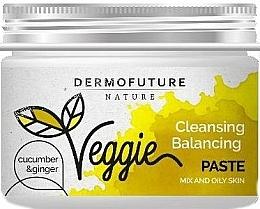 Parfumuri și produse cosmetice Pastă pentru ten gras - DermoFuture Ginger & Cucumber Pasta
