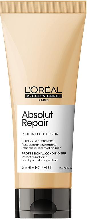 Balsam de păr - L'Oreal Professionnel Absolut Repair Gold Quinoa +Protein Conditioner