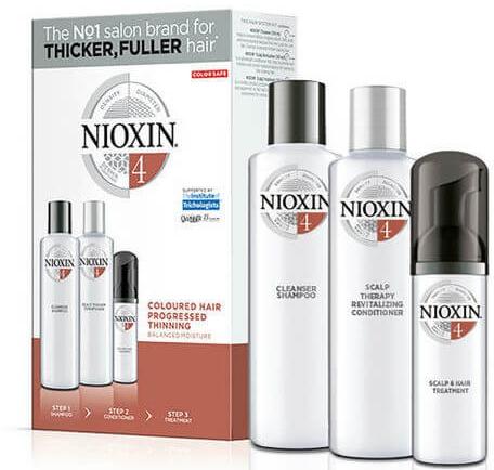 Set - Nioxin System 4 (shm/300ml + cond/300ml + mask/100ml) — Imagine N1
