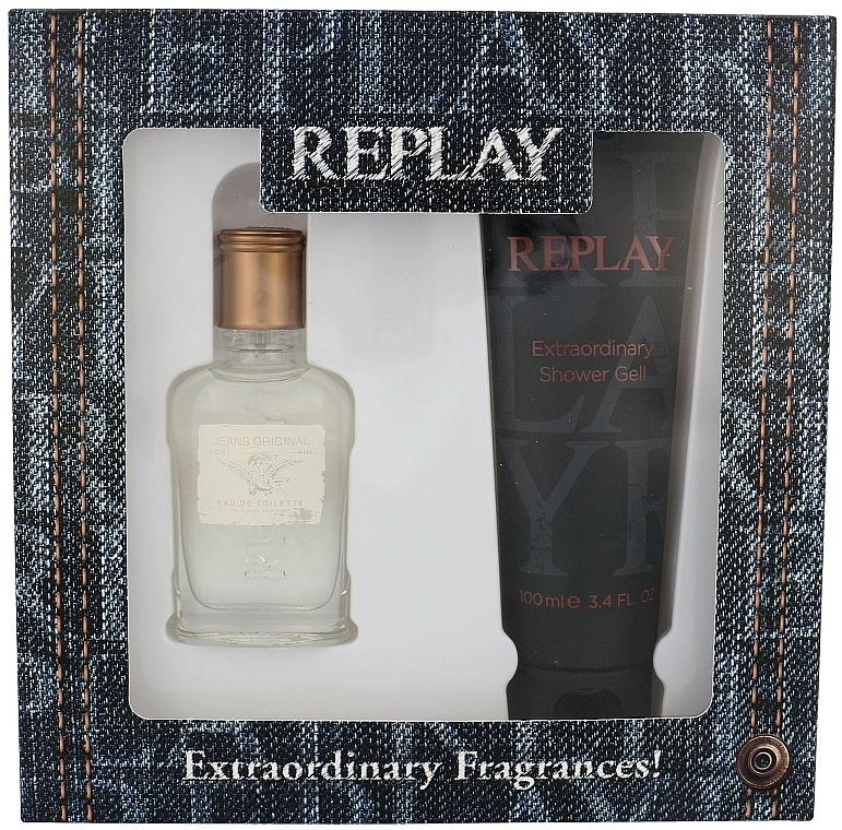 Replay Jeans Original for Him - Set (edt 30ml + s/g 100ml) — Imagine N1