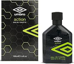 Parfumuri și produse cosmetice Umbro Action - Apă de toaletă