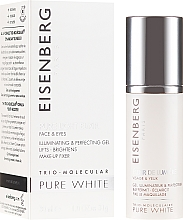 Parfumuri și produse cosmetice Elixir pentru față - Jose Eisenberg Pure White Face & Eyes Illuminating & Perfecting Gel