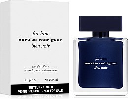 Narciso Rodriguez for Him Bleu Noir - Apă de toaletă (tester cu capac) — Imagine N2