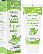 Parfumuri și produse cosmetice Fluid hidratant pentru copii - Alphanova Baby Moisturizing Fluid