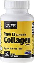 Parfumuri și produse cosmetice Supliment nutritiv, 500 mg, 60 capsule - Jarrow Formulas Type II Collagen Complex