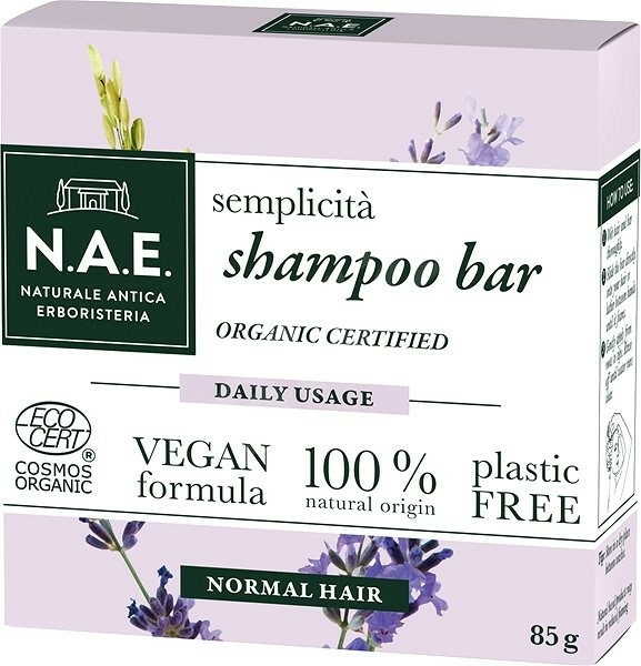 Șampon solid - N.A.E. Semplicita Daily Usage Shampoo Bar — Imagine N1
