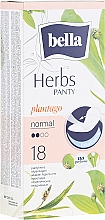Parfumuri și produse cosmetice Absorbante Panty Herbs Sensetive Plantago, 18 bucăți - Bella