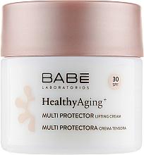 Parfumuri și produse cosmetice Cremă-lifting de protecție cu DMAE și SPF 30 - Babe Laboratorios Healthy Aging Multi Protector Lifting Cream