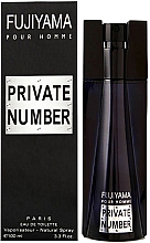 Parfumuri și produse cosmetice Succes de Paris Fujiyama Private Number - Apă de toaletă