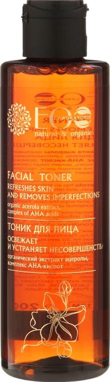 Tonic revigorant pentru față pe bază de acizi - ECO Laboratorie Facial Toner