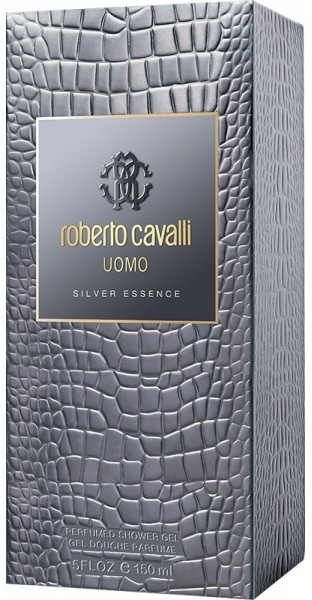 Roberto Cavalli Uomo Silver Essence - Gel de duș — Imagine N1