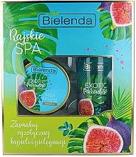 Parfumuri și produse cosmetice Set - Bielenda Exotic Paradise Figa (scrub/350g + butter/400ml)