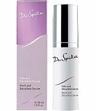 Parfumuri și produse cosmetice Ser pentru gât și decolteu - Dr. Spiller Breast and Decollete Lift Serum