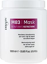 Parfumuri și produse cosmetice Mască cu ulei de argan pentru păr - Dikson M83 Restructuring Mask
