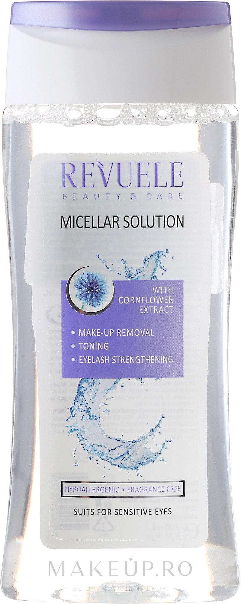 Apă micelară - Revuele Micellar Water Solution Cornflower Extract — Imagine 200 ml