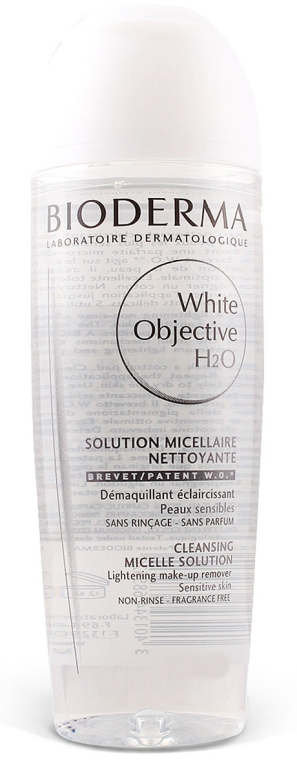 Apă micelară ten sensibil - Bioderma White Objective H2O Cosmetic — Imagine N1