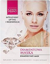 """Parfumuri și produse cosmetice Mască de față """"Diamond"""" - Czyste Piekno Diamond Face Mask"""