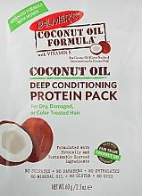 Parfumuri și produse cosmetice Mască de condiționare cu proteine pentru păr - Palmer's Coconut Oil Formula Deep Conditioning Protein Pack