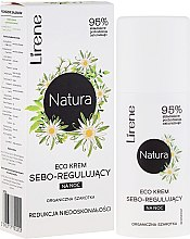 """Parfumuri și produse cosmetice Cremă de noapte """"Organic Edelweiss"""" - Lirene Natura Eco Cream"""