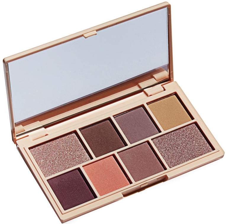 Paletă fard de pleoape, 8 nuanțe - I Heart Revolution Mini Eyeshadow Palette — Imagine N1