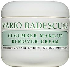 Parfumuri și produse cosmetice Cremă demachiantă - Mario Badescu Cucumber Make-up Remover Cream