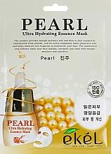 Parfumuri și produse cosmetice Mască din țesătură cu extract de perle pentru față - Ekel Pearl Ultra Hydrating Essence Mask