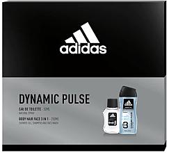 Parfumuri și produse cosmetice Adidas Dynamic Pulse - Set (edt/50ml + sh/gel/250ml)