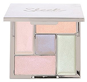 Paletă highlighter - Sleek Makeup Highlighting Palette Distorted Dreams