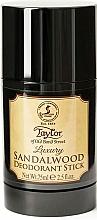 Parfumuri și produse cosmetice Taylor Of Old Bond Street Sandalwood - Deodorant stick