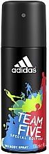 Parfumuri și produse cosmetice Adidas Team Five - Deodorant