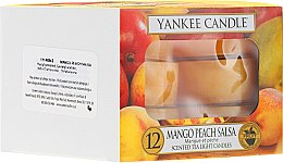 Lumânări pastile - Yankee Candle Scented Tea Light Candles Mango Peach Salsa — Imagine N1