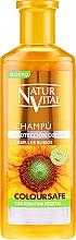 Parfumuri și produse cosmetice Șampon pentru menținerea culorii - Natur Vital Coloursafe Henna Colour Shampoo Blonde Hair