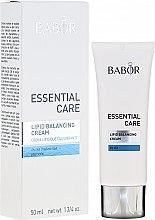 Parfumuri și produse cosmetice Cremă pentru ten uscat - Babor Essential Care Lipid Balancing Cream