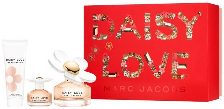 Marc Jacobs Daisy Love - Set (edt/100ml + edt/4ml + b/lot/75ml) — Imagine N1