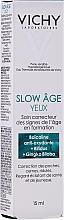 Parfumuri și produse cosmetice Cremă de ochi - Vichy Slow Age Eye Cream