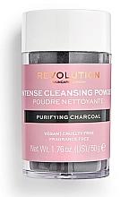 Parfumuri și produse cosmetice Pudră de curățare pentru față - Revolution Skincare Purifying Charcoal Cleansing Powder