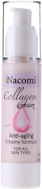 Cremă de față - Nacomi Collagen Cream Anti-aging