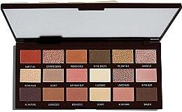 Parfumuri și produse cosmetice Paletă fard de pleoape, 18 nuanțe - I Heart Revolution Chocolate Palette
